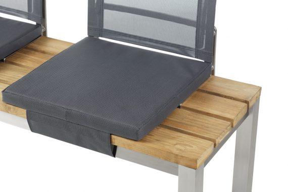venedig sitzkissen f r piero bank silberblack gartenm beloase online shop mit schauraum. Black Bedroom Furniture Sets. Home Design Ideas